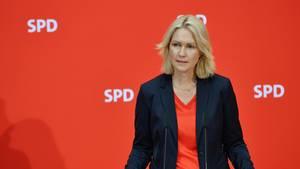 Manuela Schwesig, Ministerpräsidentin von Mecklenburg-Vorpommern