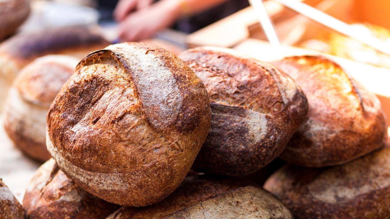 Brot in einer Bäckerauslage