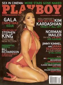 """Kendall Jenners Halbschwester Kim Kardashian posierte 2007 für den """"Playboy"""""""