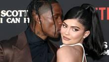 Travis Scott und Kylie Jenner sind seit 2017 ein Paar