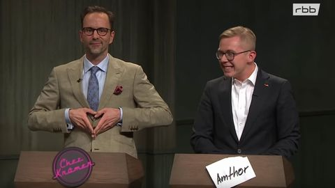 Kurt Krömer empfängt Philipp Amthor