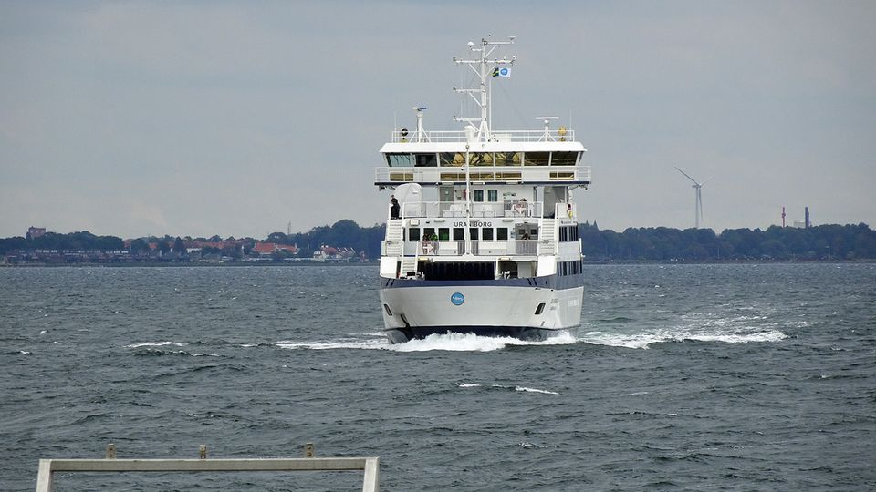 Die Fähre vom Hafen Landskrona zur Insel Ven benötigt nur 30 Minuten