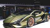 Lamborghini Sian FKP 37 der erste Hybrid.FKP bedeutet Ferdinand Karl Piech 37 ist sein Geburtsjahr.