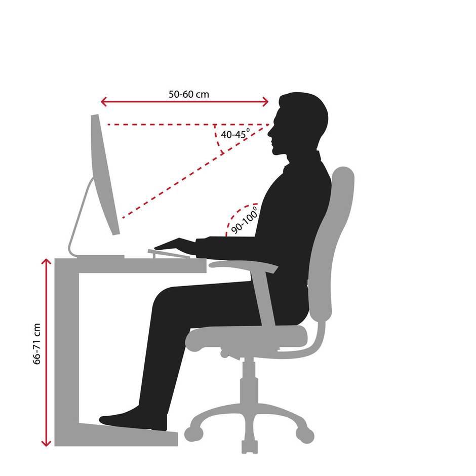 Arbeiten im Sitzen oder Stehen: Ergonomie am Arbeitsplatz: So beugen Sie körperlichen Beschwerden vor