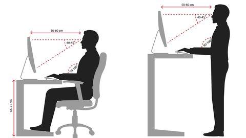 So arbeiten Sie im Sitzen und Stehen optimal
