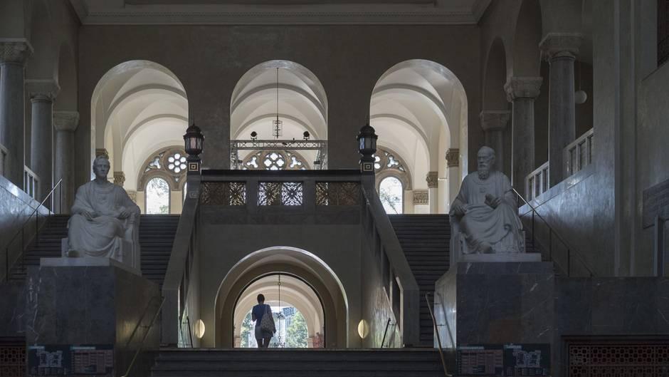 Lichthof der Ludwigs-Maximilian-Universität in München