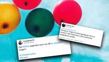 Niedersachsens Grüne fordern ein Luftballonverbot.