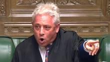 """John Bercow will Premierminister Boris Johnson notfalls mit zusätzliche Kreativität"""" an einem No-Deal-Brexit hindern"""