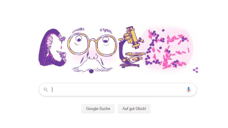 Hans Christian Gram Google Doodle