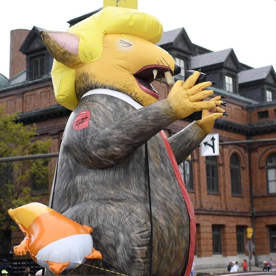 """Vom Präsidenten beschimpfte US-Stadt: """"Von Ratten und Nagern verseuchtes Drecksloch"""": So wurde Donald Trump von Baltimore empfangen"""