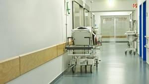 Ein Krankenhausflur