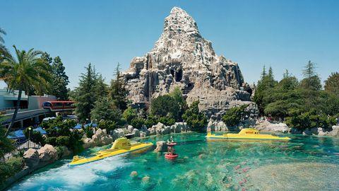 Aufnahme einer Matterhorn-Nachbildung