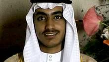 Hamsa bin laden auf einem undatierten CIA-Foto bei seiner Hochzeit