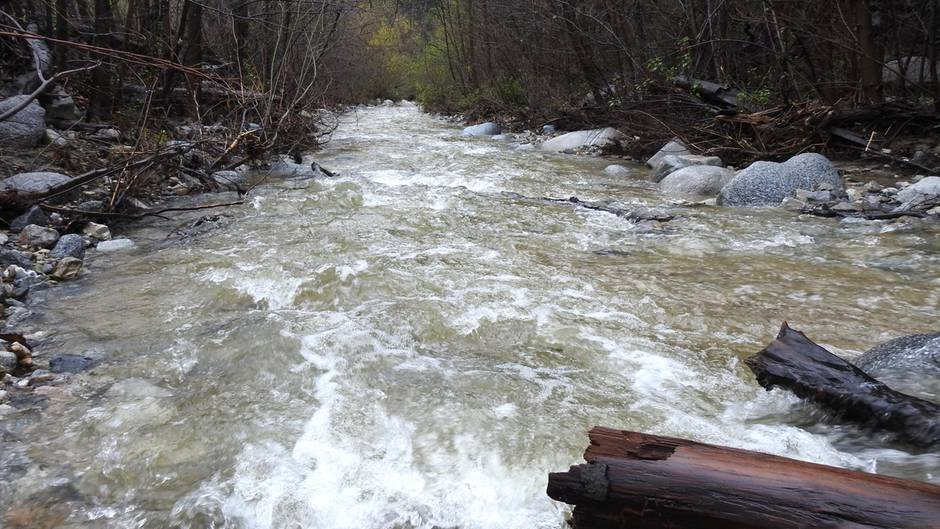 """DerArroyo Seco - spanisch für """"trockener Fluss"""" - ist trotz seines Namens für seine reißenden Strömungen und seine Flutgefahr bekannt."""