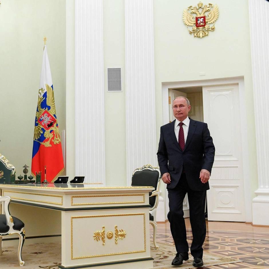 Agententhriller in Moskau: Hat es ein CIA-Spion bis an die Seite von Wladimir Putin geschafft? Und wo ist er jetzt?