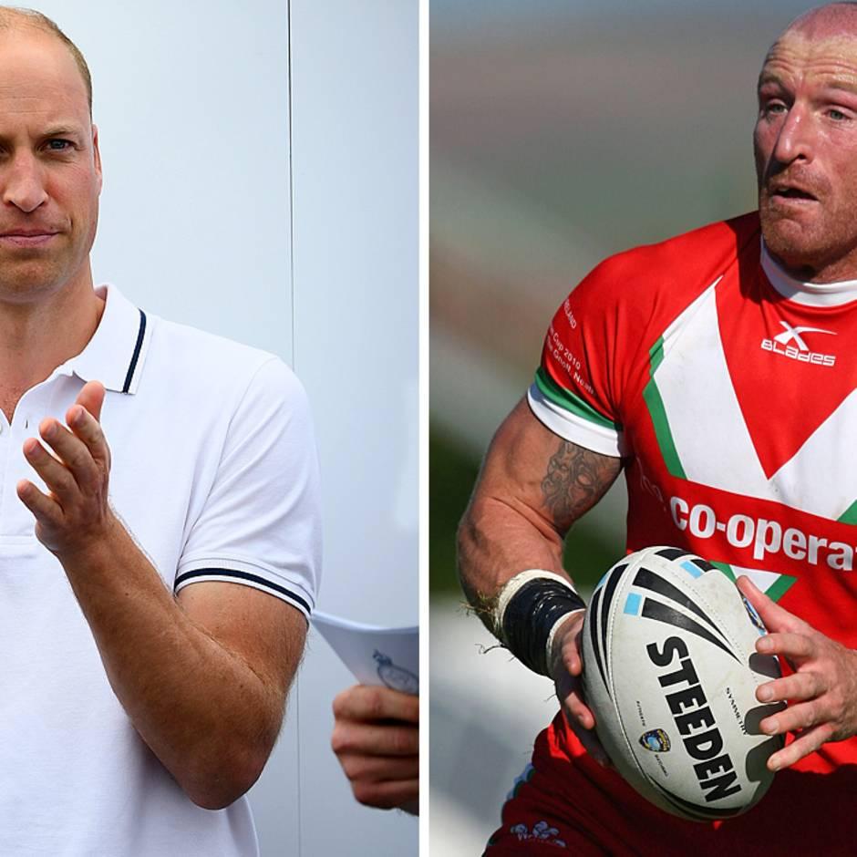 Gareth Thomas: Walisischer Rugby-Spieler macht HIV-Erkrankung öffentlich - Prinz William steht ihm bei
