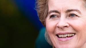 Die künftige EU-Kommissionschefin Ursula von der Leyen