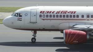 Ein Airbus A319 von Air India: In einem Flugzeug dieser Art ereignete sich der Zwischenfall