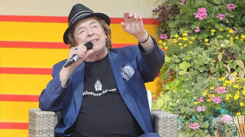 """Tony Marshall bei seinem Auftritt in der ARD-Sendung """"Immer wieder sonntags"""""""
