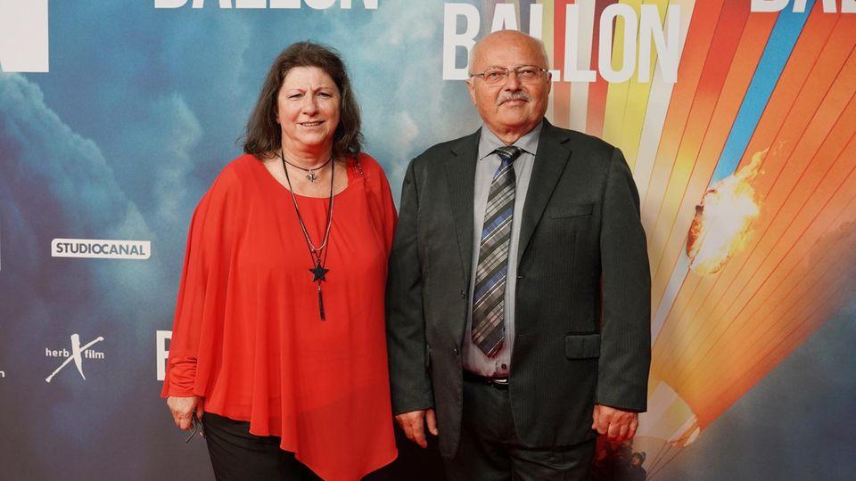Günter und Petra Wetzel im September 2018 im Berlin