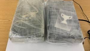 Das Kokain hatte einen Wert von 174.000 Euro