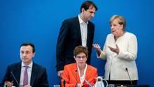 Sitzung des CDU-Bundesvorstands