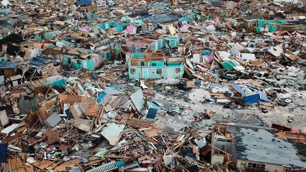 """Hurrikan """"Dorian""""hat auf den Bahamas enorme Verwüstungen hinterlassen"""