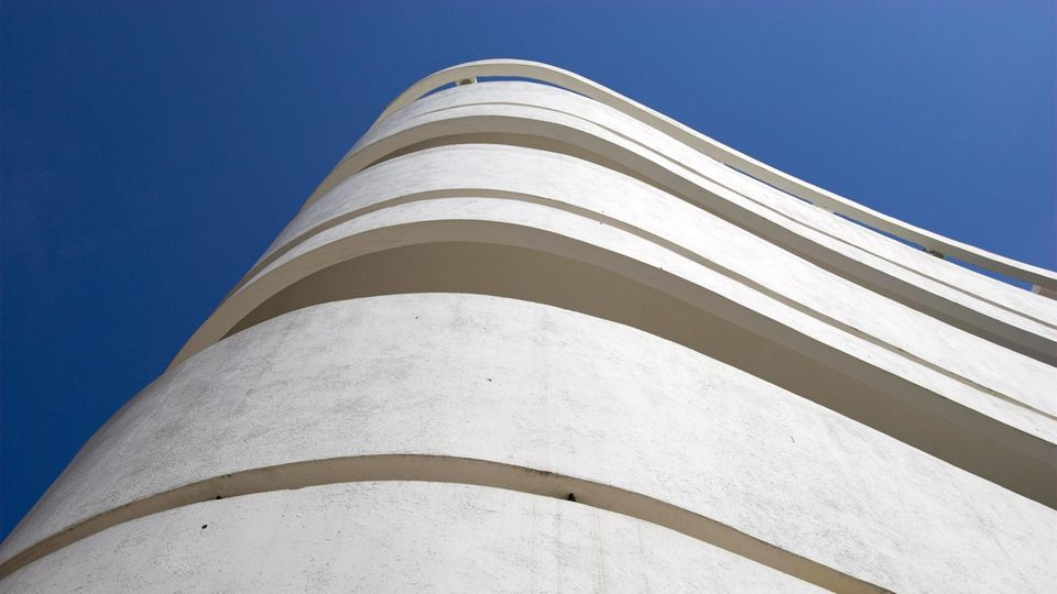 Bauhaus-Architektur in Tel Aviv