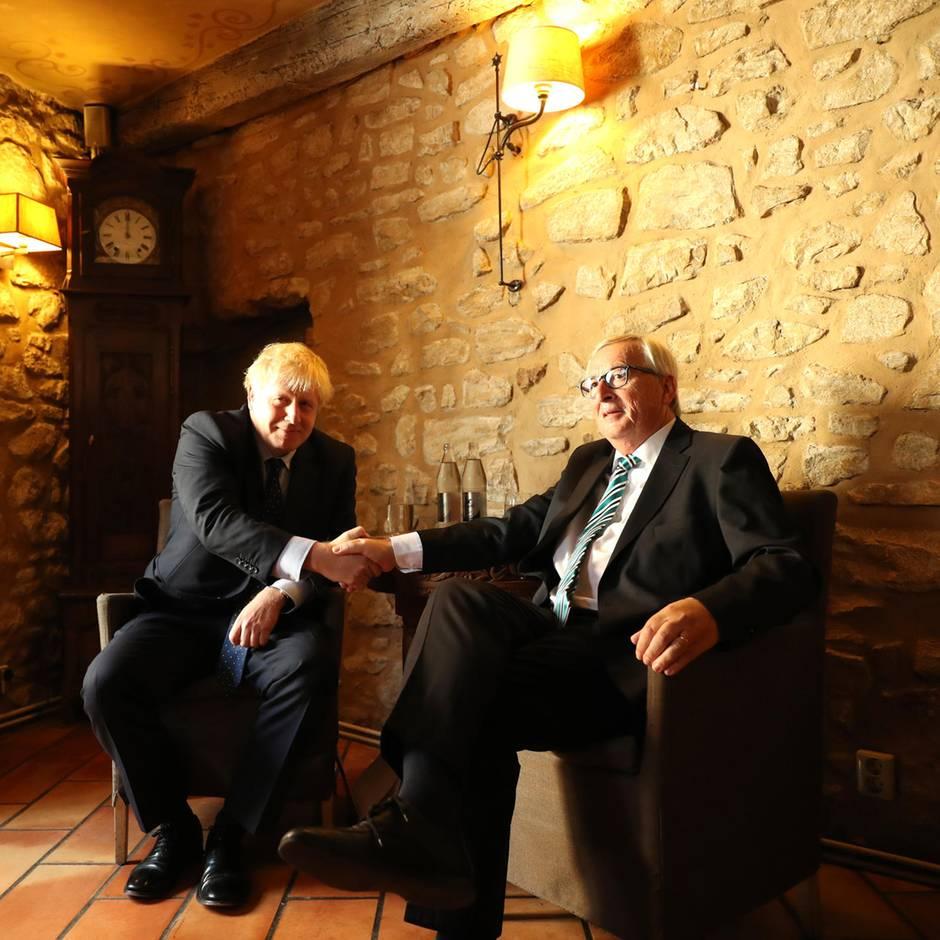 Brexit-Treffen ohne Durchbruch: Boris Johnsons sagt Pressekonferenz ab – wegen des Lärms