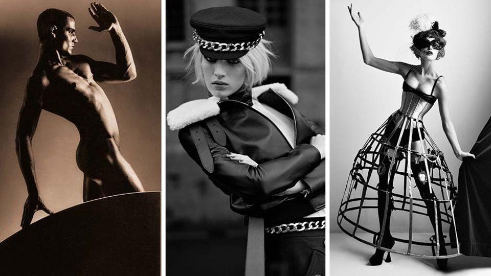 Collage: Fotografie von einem Mann, Ashleigh Good und Edita Vilkevičiūtė