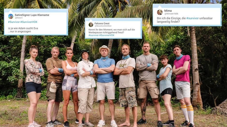 """Die Zuschauer sind wenig von der neuen Show """"Survivor"""" begeistert"""