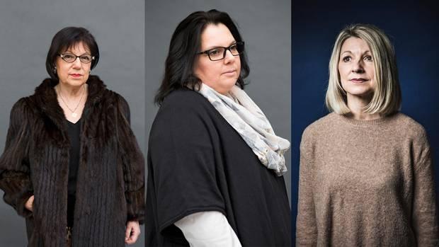 Portraits von Helga, Anja und Caroline Frey