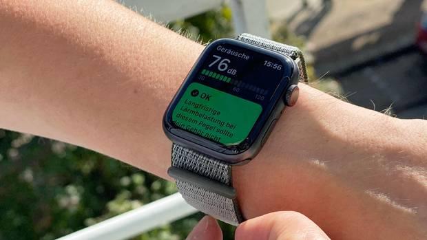 Mit watchOS 6 kommt eine Hörgesundheit-App, welche die Umgebungs-Lautstärke analysiert.