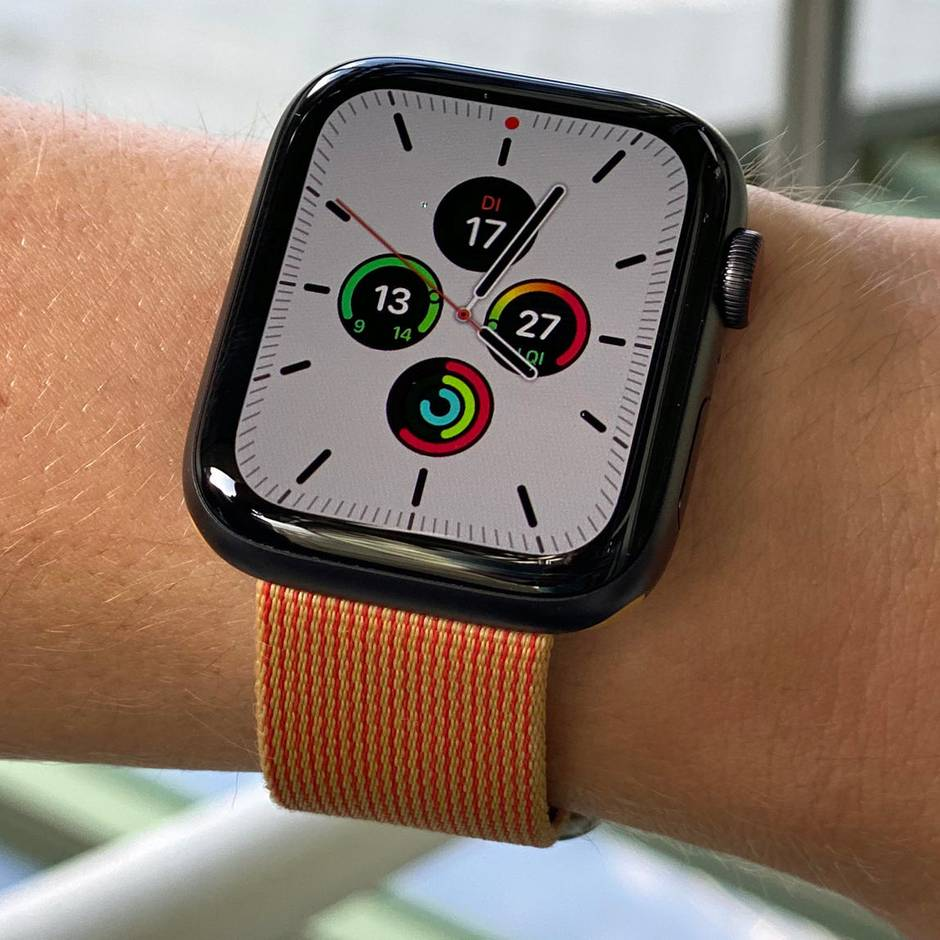 Neuer Bildschirm: Apple Watch Series 5 im Test: Endlich eine richtige Uhr