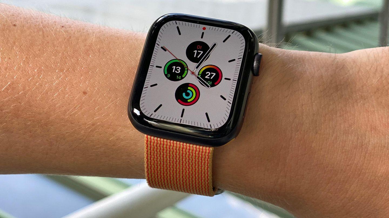 Die Apple Watch Series 5 hat einen Always-on-Bildschirm.
