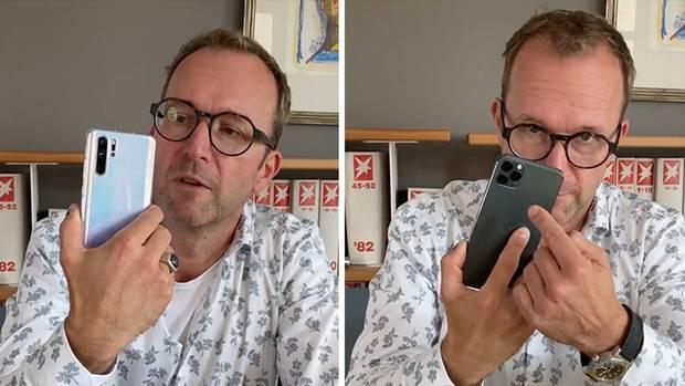 iPhone 11 Pro versus Huawei P30 Pro: Welche Smartphone-Linse schneidet besser ab?