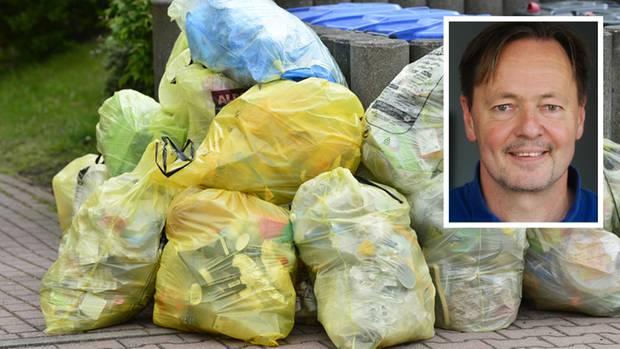 Müll trennen ist löblich, aber andere Dinge helfen viel mehr, sagtTristan Jorde,UmweltberaterderVerbraucherzentrale Hamburg