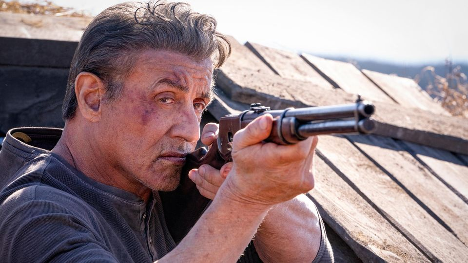 """Sylvester Stallone in """"Rambo: Last Blood"""""""