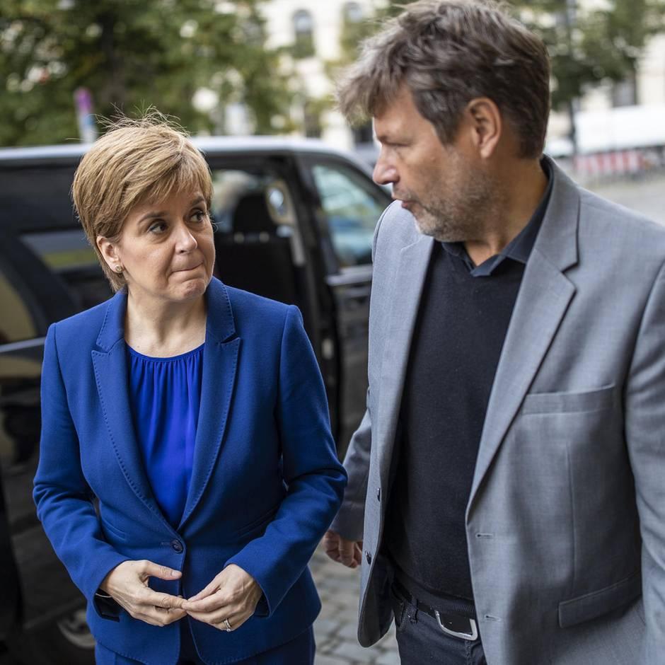 News von heute: Schottlands Regierungschefin glaubt an Abspaltung von Großbritannien nach Brexit