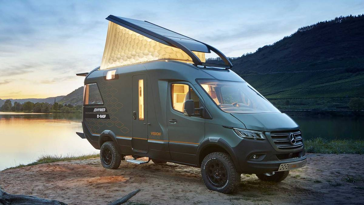 Hymer Concept Car: VisionVenture – der coole Camper für die Zukunft