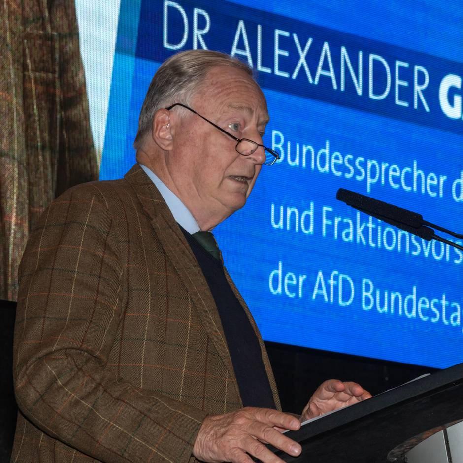 News von heute: AfD-Chef Gauland ruft Teile der CDU zur Distanzierung von Merkel auf