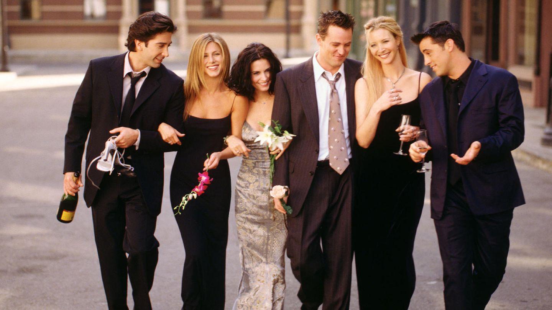 Friends: David Schwimmer, Jennifer Aniston Courteney Cox, Matthew Perry, Lisa Kudrow und Matt LeBlanc