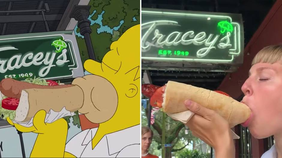 """""""The Simpsons"""": Schweizerinnen futtern sich genau wie Homer durch New Orleans"""