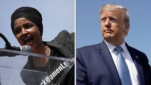 Donald Trump Ilhan Omar