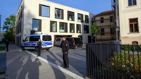 Verwaltungsgebäude der Landkreises Nordwestmecklenburg in Wismar
