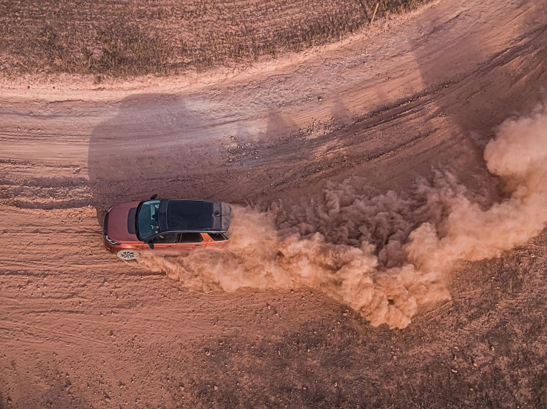 Der neue Land Rover Discovery Sport taugt auch gut fürs Gelände