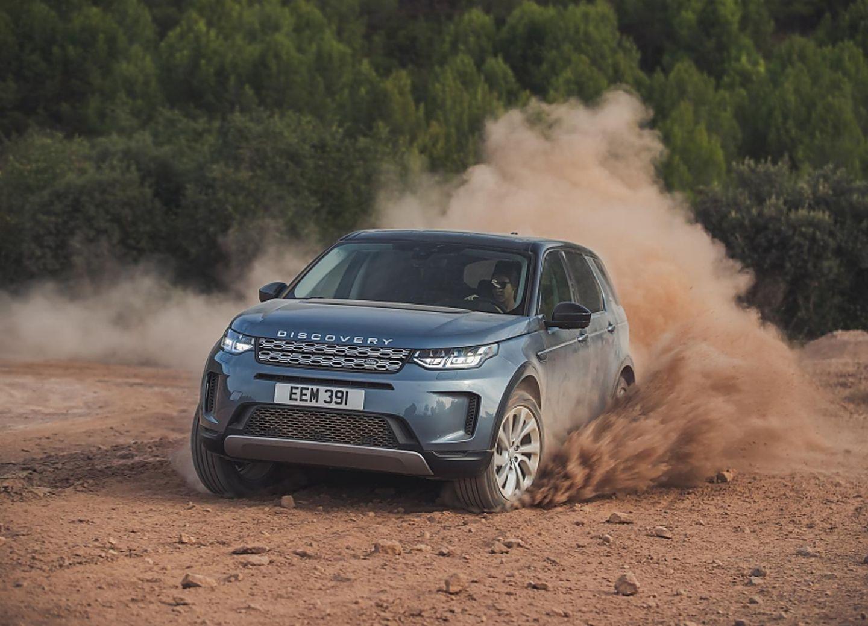 Der neue Land Rover Discovery Sport im Gelände