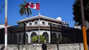Die kanadische Botschaft in Kubas Hauptstadt Havanna