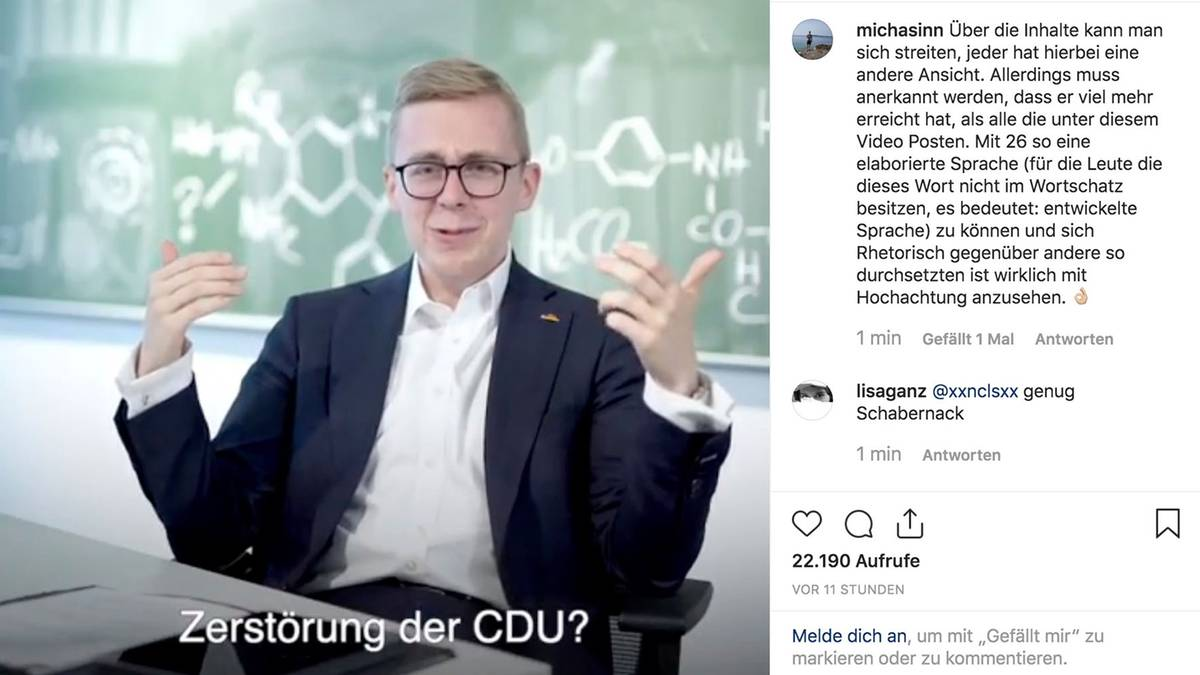 Philipp Amthor Antwort Rezo