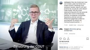 Philipp Amthor ist jetzt auf Instagram